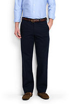 Lands' End Men's Comfort Waist Casual Chino Pants-Steeple Gray