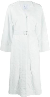 Marine Serre Oversized Wide Sleeve Coat