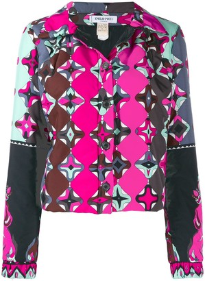 Emilio Pucci Pre-Owned 2000's kaleidoscope print lightweight jacket