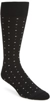 Nordstrom Men's Box Dot Crew Socks