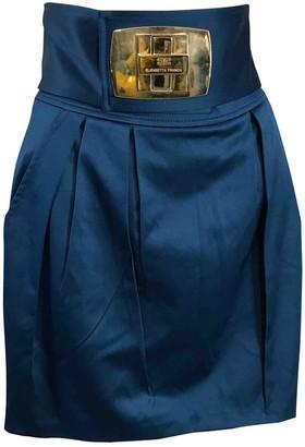 Elisabetta Franchi Blue Skirt for Women