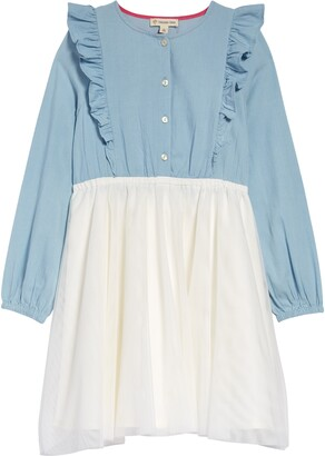 Tucker + Tate Kids' Chambray Dress