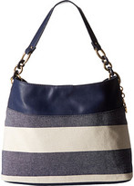 Tommy Hilfiger TH Signature with Plastic Chain - Small Hobo