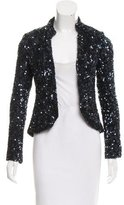Gryphon Sequin-Embellished Silk Jacket w/ Tags
