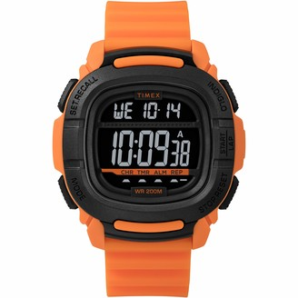 Timex Men's Command 47mm Quartz Sport Watch with Silicone Strap
