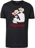 Dolce & Gabbana polka-dot T-shirt