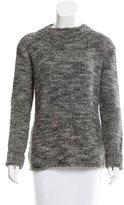 The Row Alpaca-Blend Mélange Sweater