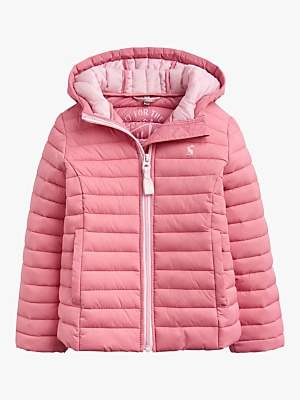 Joules Little Joule Girls' Kinnaird Jacket, Pink