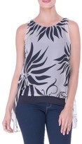 Olian Women's High/low Maternity Tank