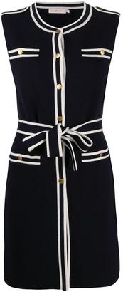 Tory Burch Contrast-Trim Dress