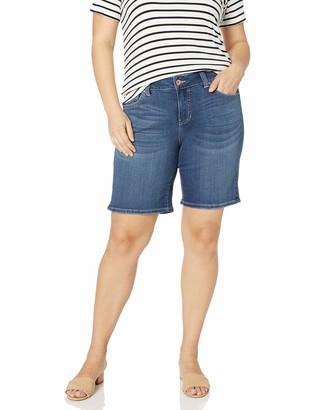 Jag Jeans Women's Plus Size Carter Girlfriend Short
