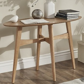 Langley StreetTM Payton Console Table Langley Street Color: Light Oak