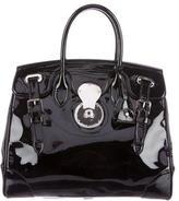 Ralph Lauren Patent Leather Ricky Bag