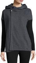 525 America Colorblock Long-Sleeve Jacket, Gray