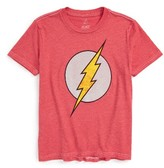 JEM Boy's The Flash Classic Logo T-Shirt