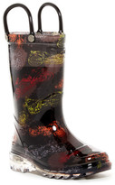 Western Chief Motorsports LED Sole Rain Boot (Toddler & Little Kid)