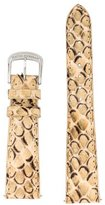 David Yurman 18mm Snakeskin Watch Strap