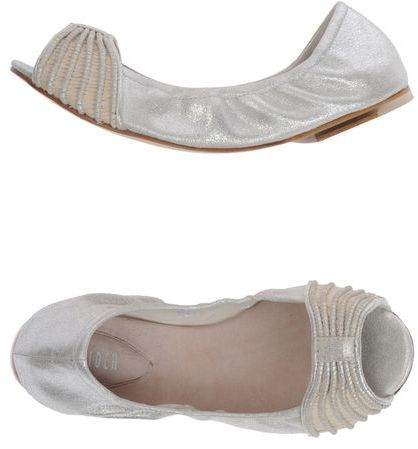 Bloch Peep-toe ballet flats