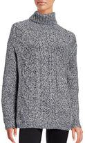 Tommy Hilfiger Cable-Knit Turtleneck