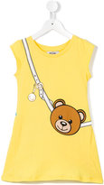 Moschino Kids - bear strap print dress - kids - Cotton - 4 yrs