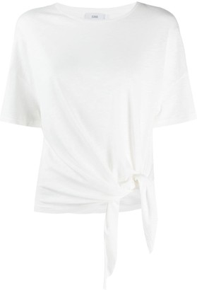 Closed knotted crew neck T-Shirt