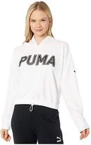 Puma Modern Sports Hoodie White) Women's Sweatshirt