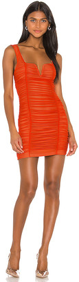 superdown Marlene Ruched Mini Dress