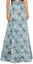 Alice + Olivia Lynette Center Jacquard Maxi Skirt