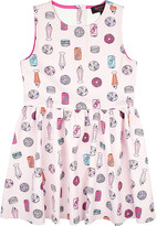 Juicy Couture Dessert print jersey dress 6-14 years