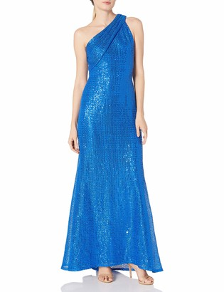 SHO Women's ONE Shldr ORGNZA Gown