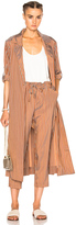 Raquel Allegra Trench Robe