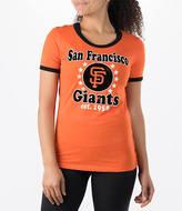 New Era Women's San Francisco Giants MLB Vintage Ringer T-Shirt