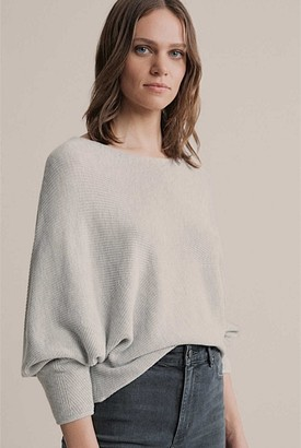 Witchery Dolman Stitch Detail Knit