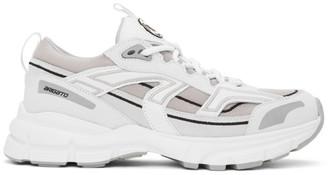Axel Arigato White and Grey Marathon R-Trail Sneakers