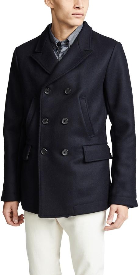 9755724bb9d Billy Reid Men Coat - ShopStyle