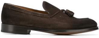 Doucal's hanging tassel loafers