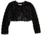 Bonnie Jean Big Girls 7-16 Faux-Fur Cardigan