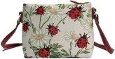 Handbag Queen Signare Womens Tapestry Fashion Shoulder Handbag Across Body Bag Ladybird Design