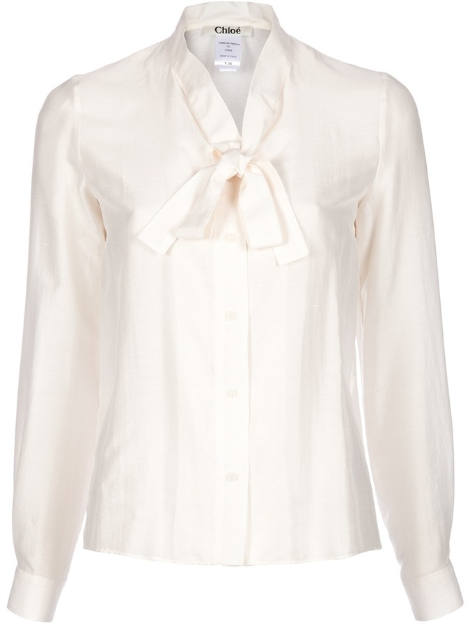 Chloé pussy bow blouse
