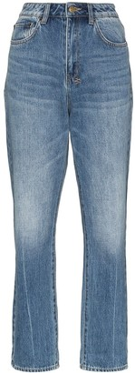 Ksubi Chlo Wasted high-waisted jeans