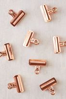 Urban Outfitters Copper Bulldog Clips Set