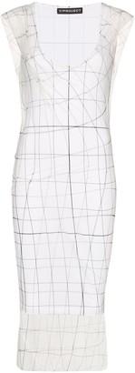 Y/Project printed sheer midi dress