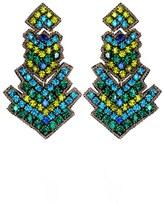 Suzanna Dai Women's 'Zocalo' Large Drop Earrings