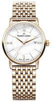 Maurice Lacroix Ladies' Rose Gold Plated Bracelet Watch