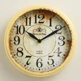 Small Yellow Round Micah Clock