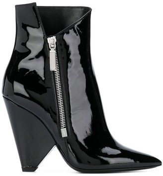 Saint Laurent Niki wedge booties