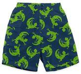 I Play Green Gecko Ultimate Swim Diaper Pocket Trunks in Navy