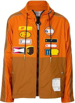 Maison Mihara Yasuhiro Back Docking shirt jacket