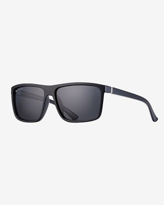 Express Blue Planet Eco-Eyewear Landen Wrap Polarized Sunglasses
