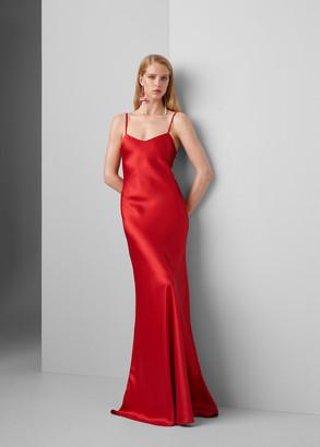 Ralph Lauren Evelyn Silk Slip Dress